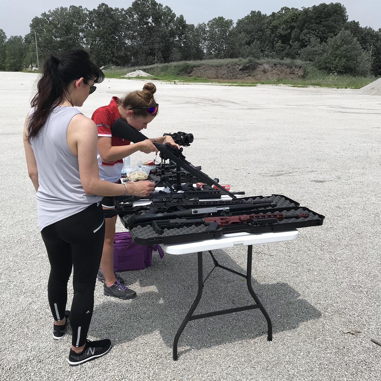 NRA Women, Long Range Shooting, Tannerite, Cheyenne Dalton, Love At First Shot, Alexo Athletica