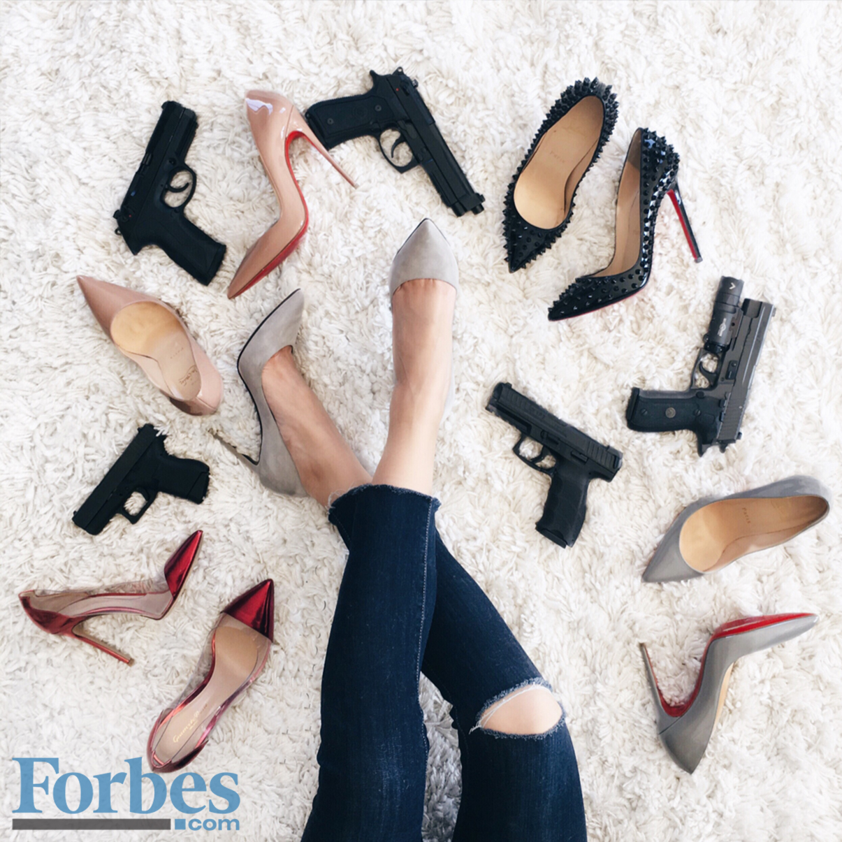 Meet The Woman Who Created A Lifestyle Brand For Women Who Wear Heels And Carry A Gun - Forbes.com | Interview