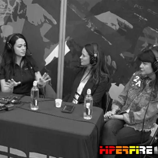 Hiperfire talks with Not Your Average Gun Girls hosts during NRA AM 2018 - HIPERFIRE | FB Live Video