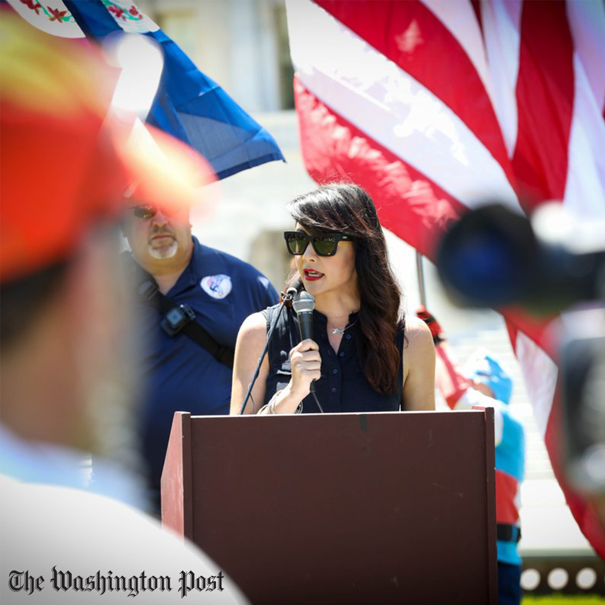 March for Our Rights Advocates for Gun Rights in D.C. Rally - The Washington Post | Video