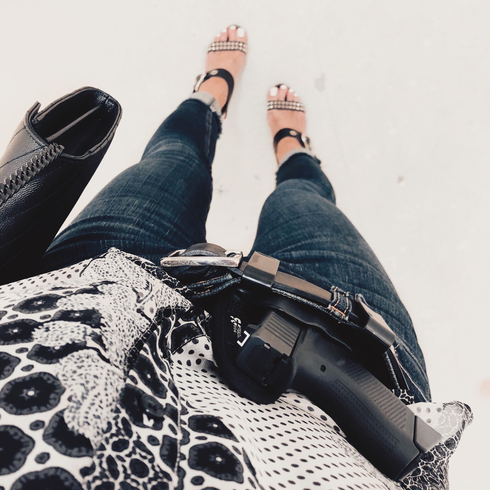 Glock 43   |   StealthGearUSA Appendix Ventcore Holster   |   Belt