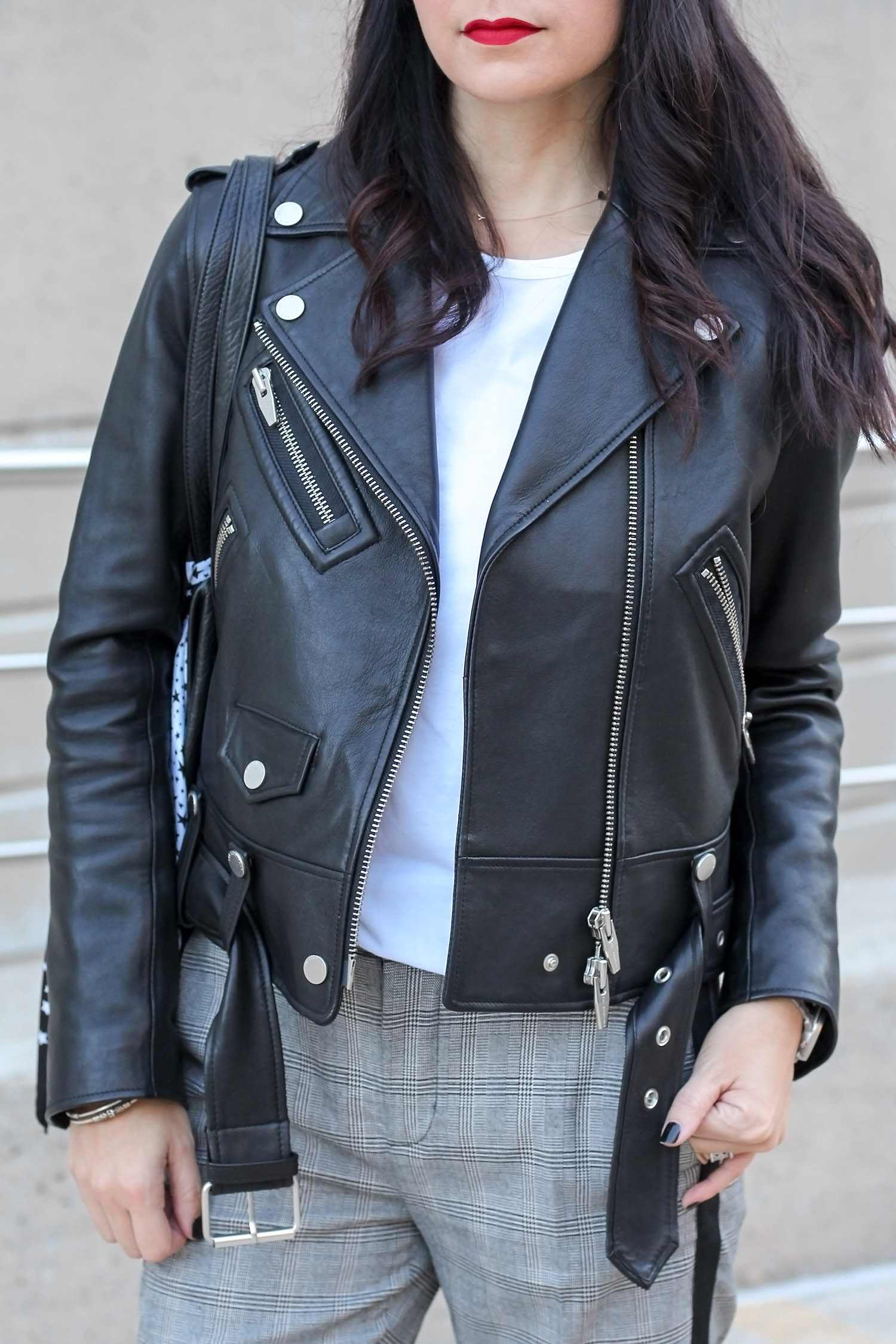 The Arrivals Leather Jacket