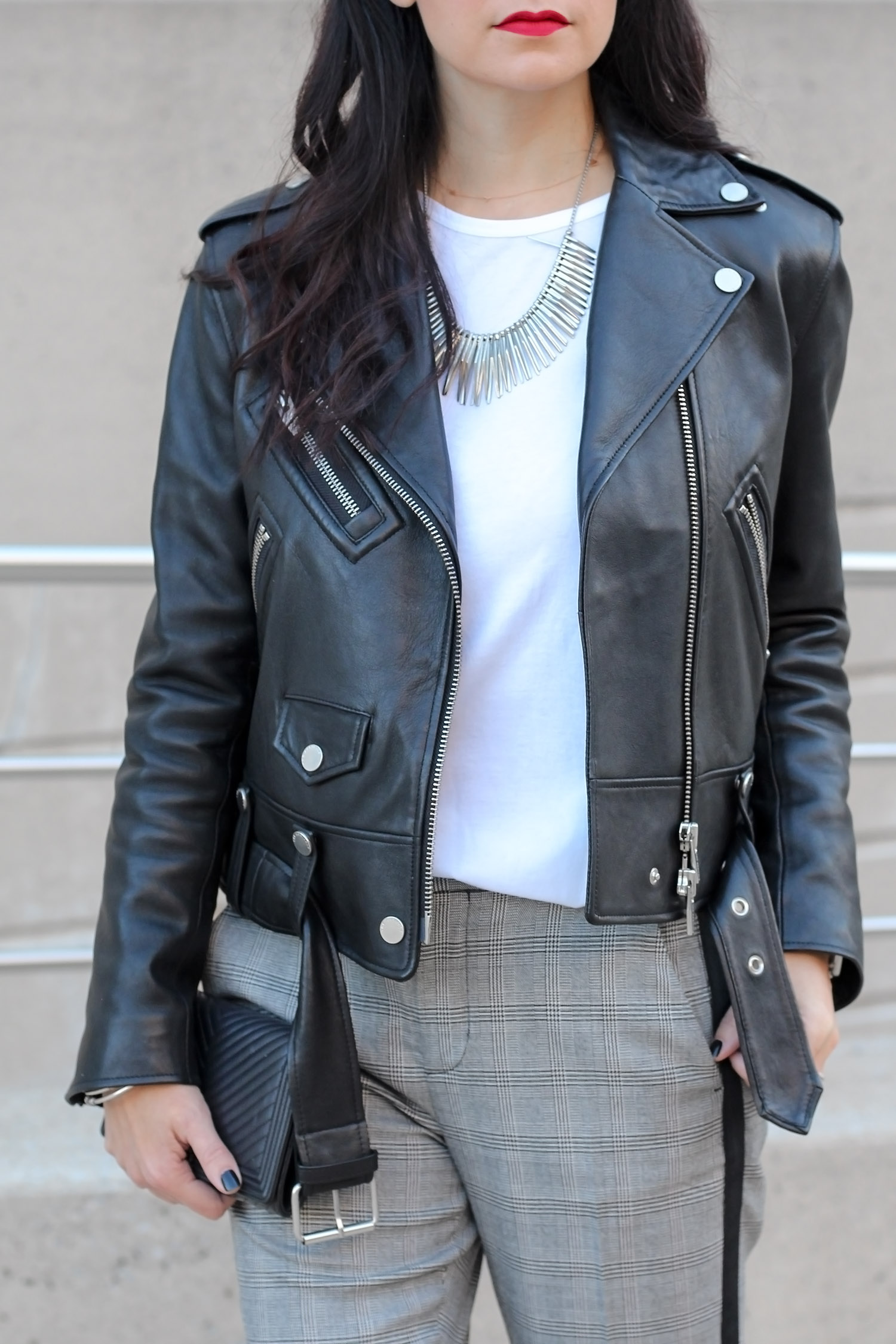 Styling a Leather Jacket
