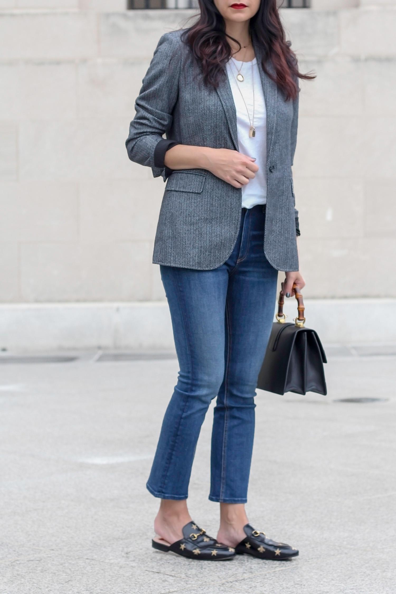 Menswear Blazer, Tweed Blazer, Menswear Look