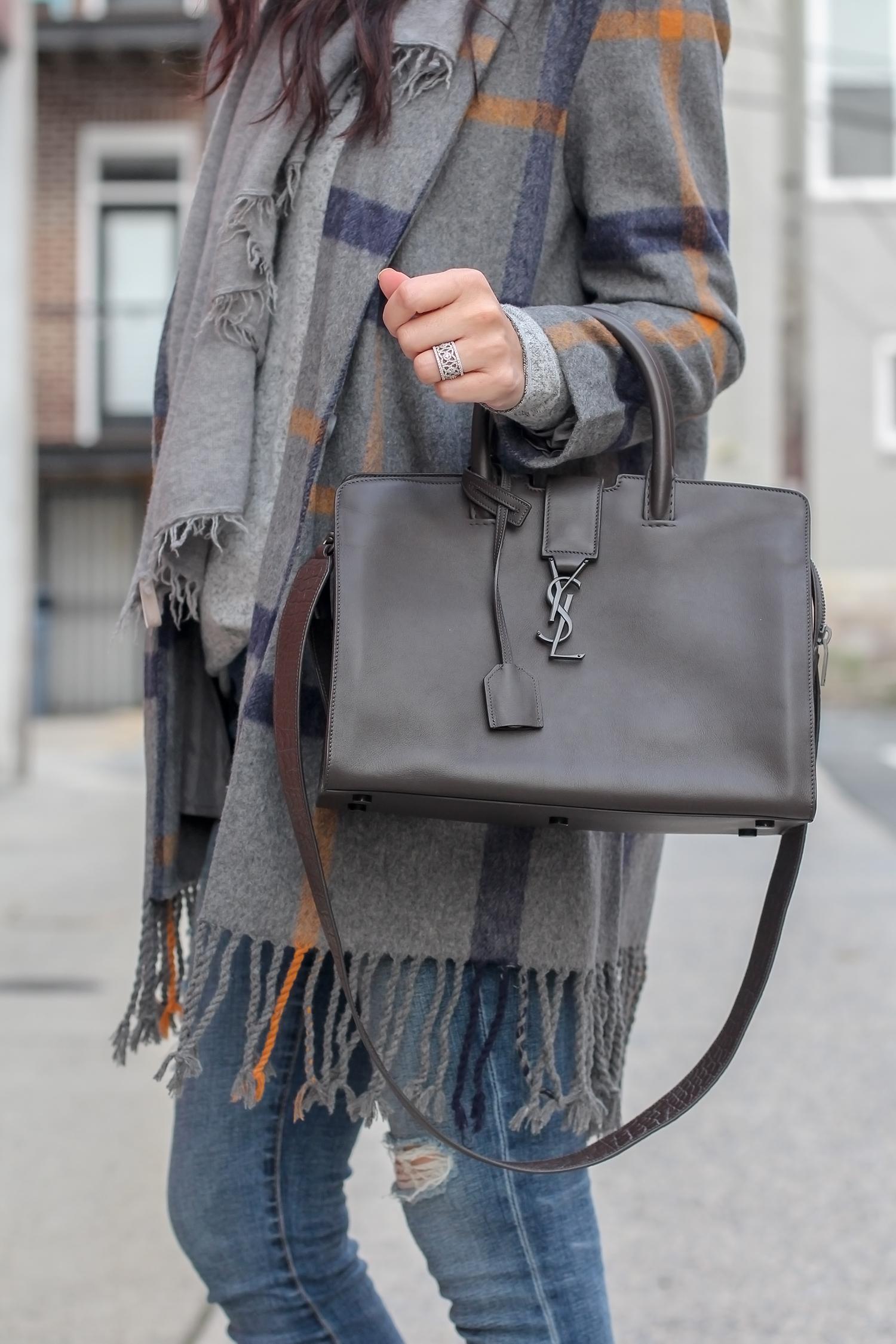 Medium Satchel, YSL Bag, Everyday Bag
