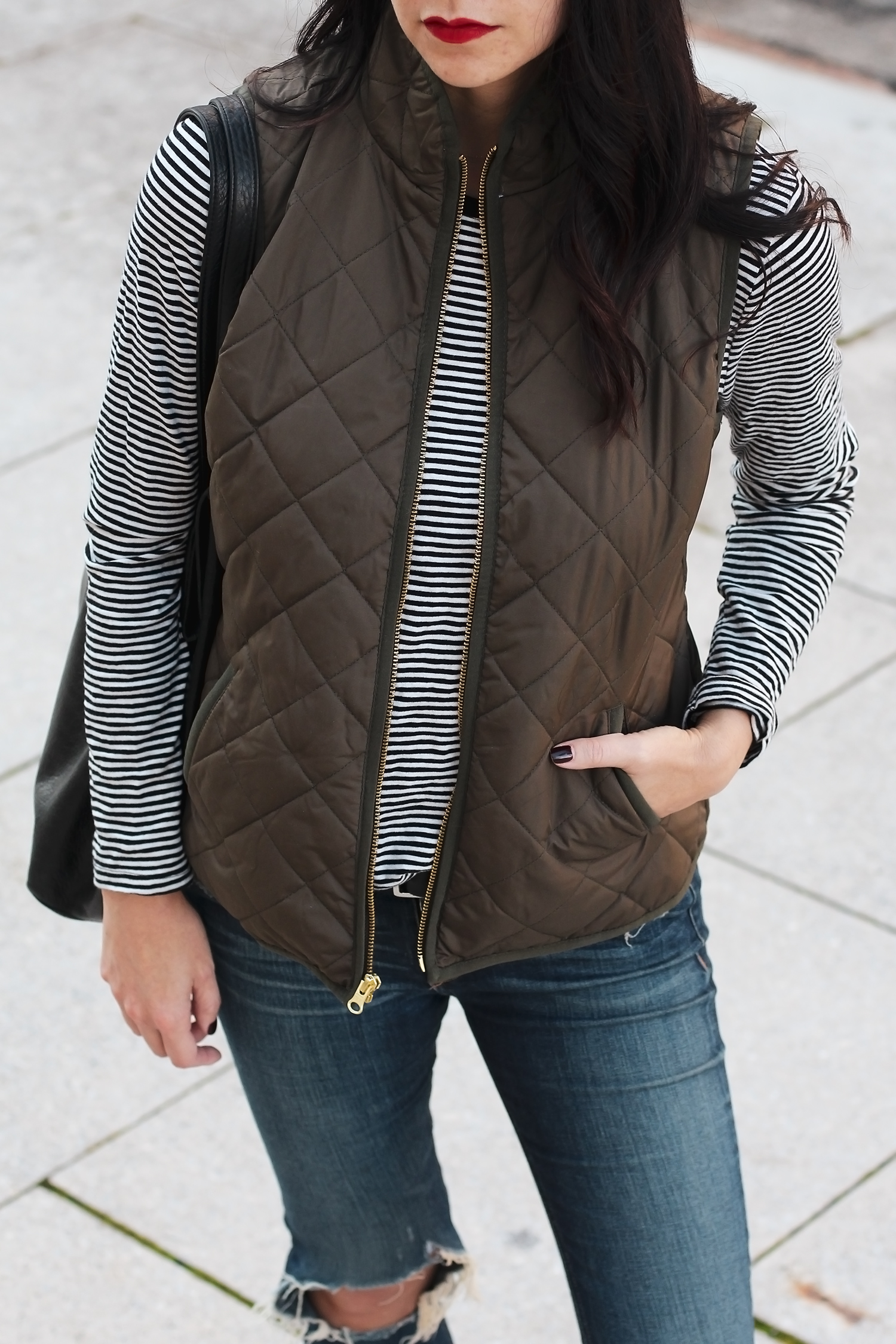 Old Navy Vest, Weekend Outfit