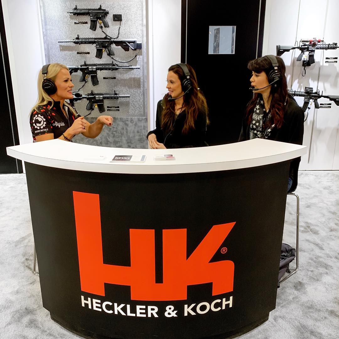 Alysia Burrows, Not Your Average Gun Girls, Heckler and Koch, SHOT Show, Alexo Athletica, Style Me Tactical