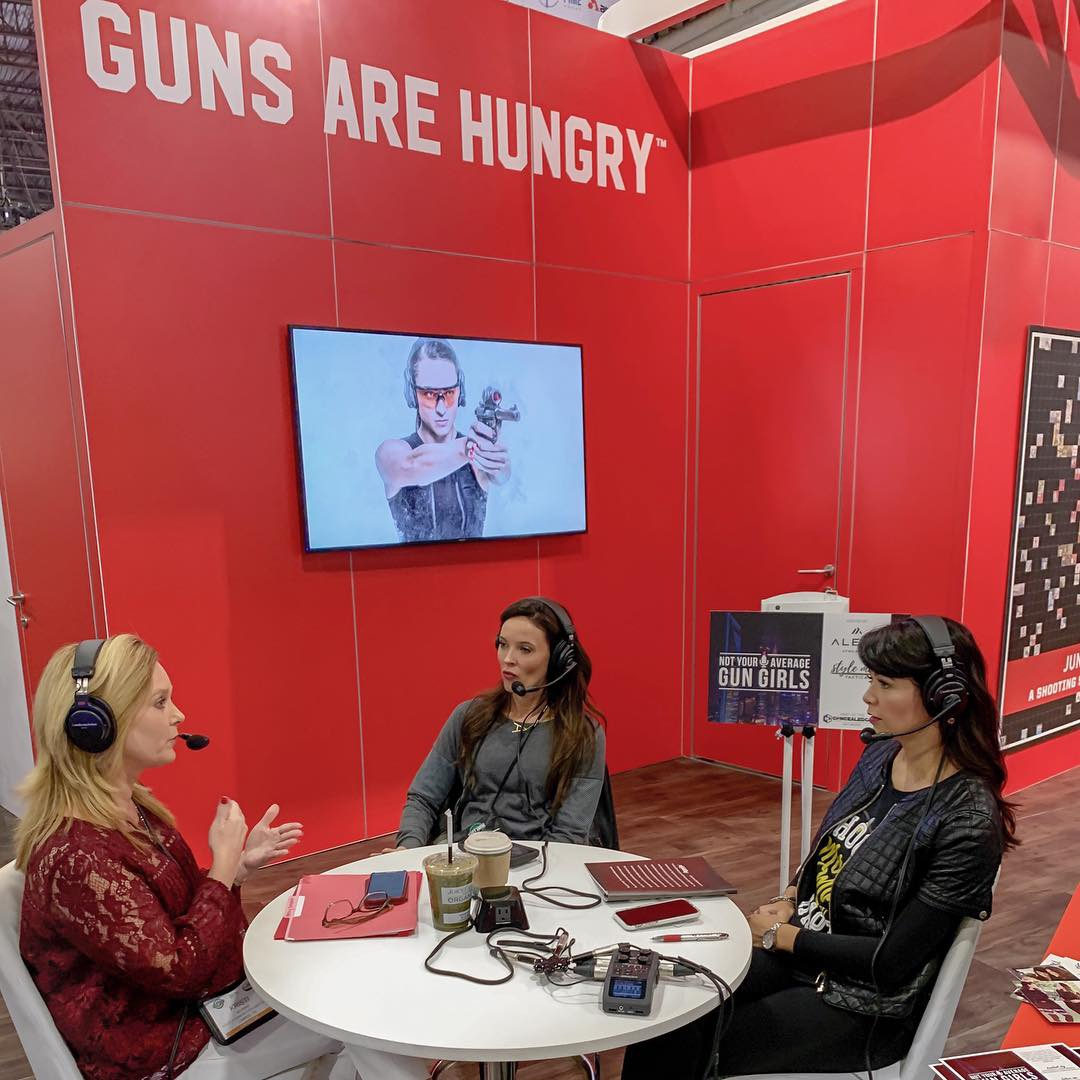Kristi Heuring, Not Your Average Gun Girls, Aguila Ammunition, SHOT Show, Alexo Athletica, Style Me Tactical