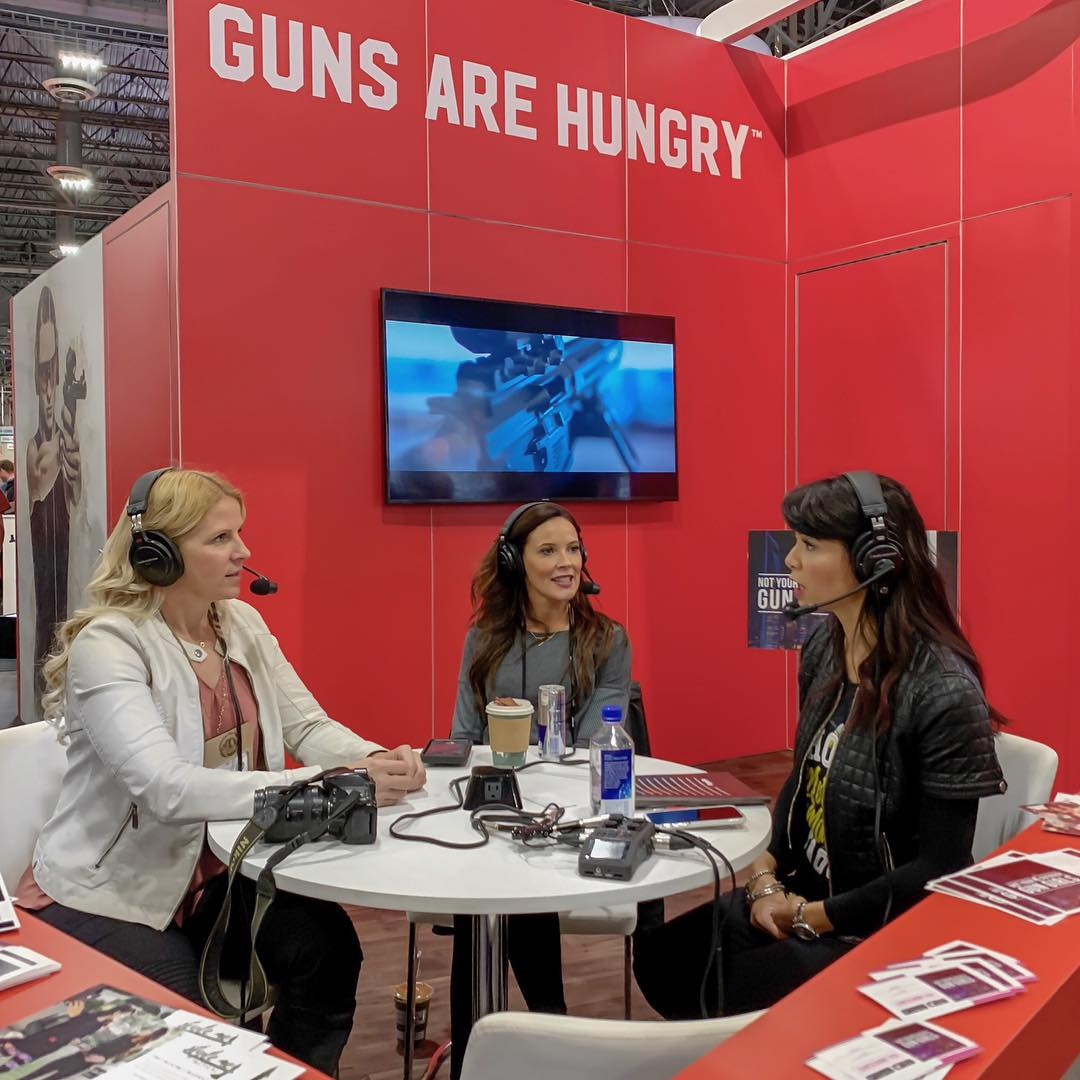 Becky Yackley, Not Your Average Gun Girls, Aguila Ammunition, SHOT Show, Alexo Athletica, Style Me Tactical