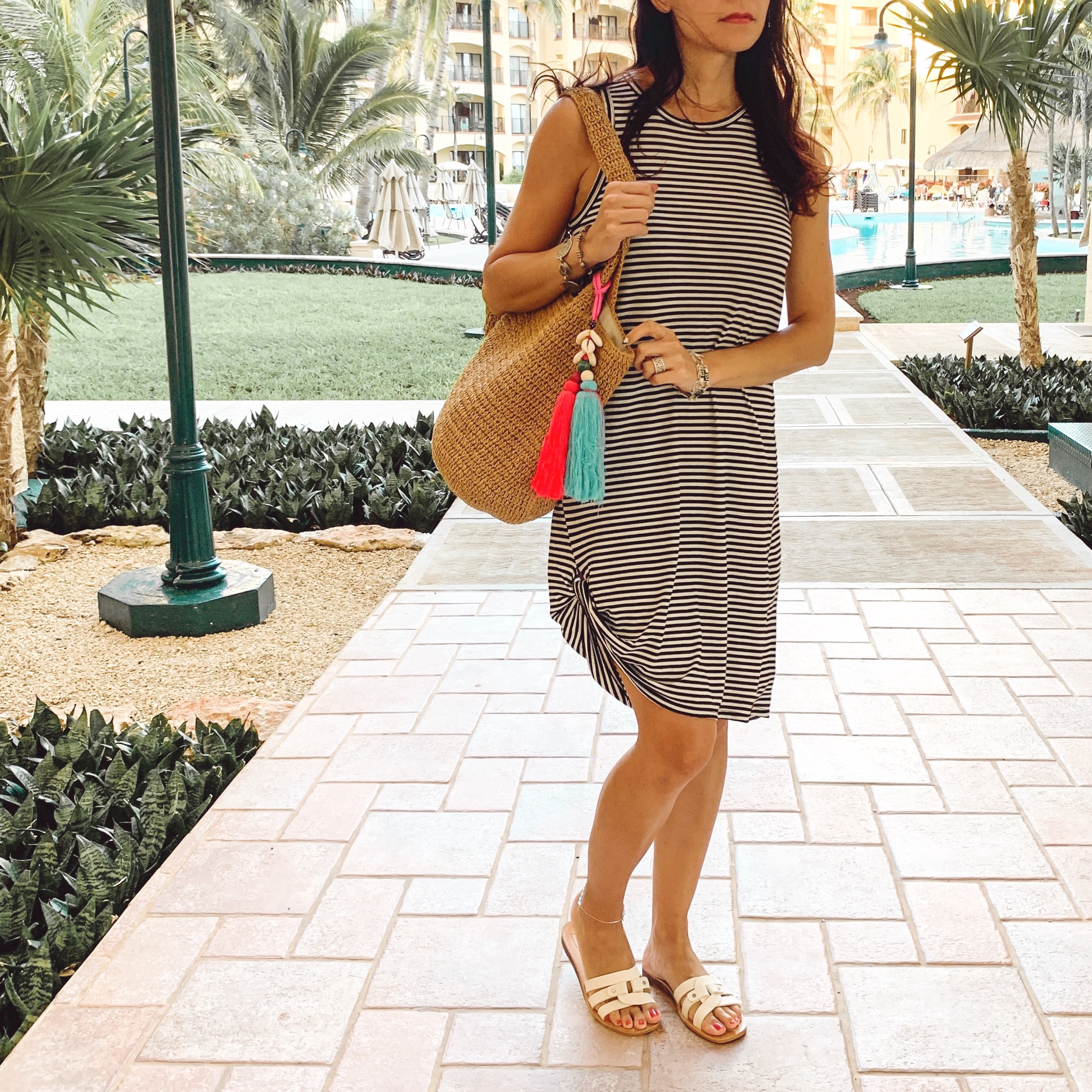 T-Shirt Dress, What to Wear on a Beach Summer Vacation
