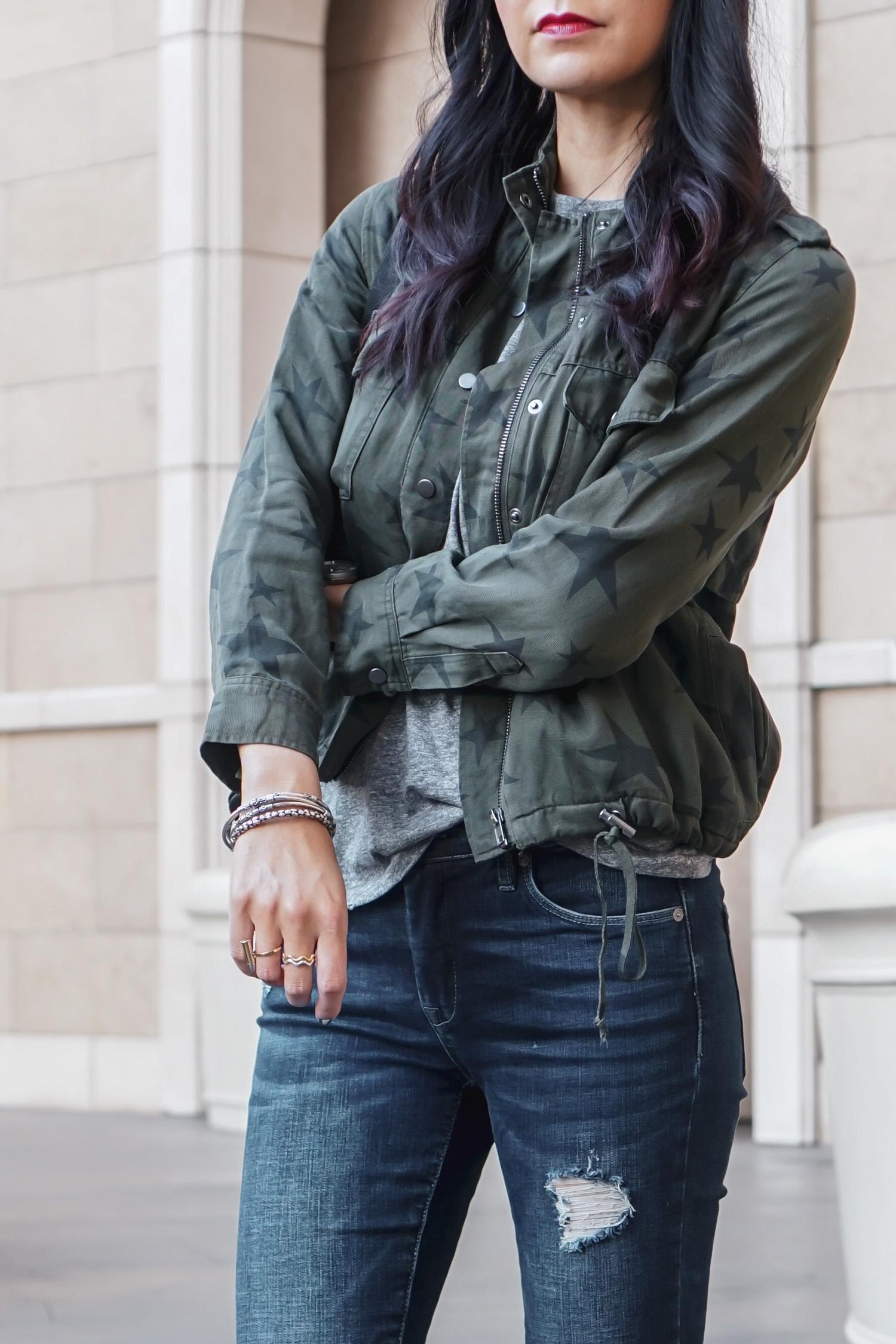 Rails Star Jacket, Modern Vice Boots, Treasure & Bond Bag
