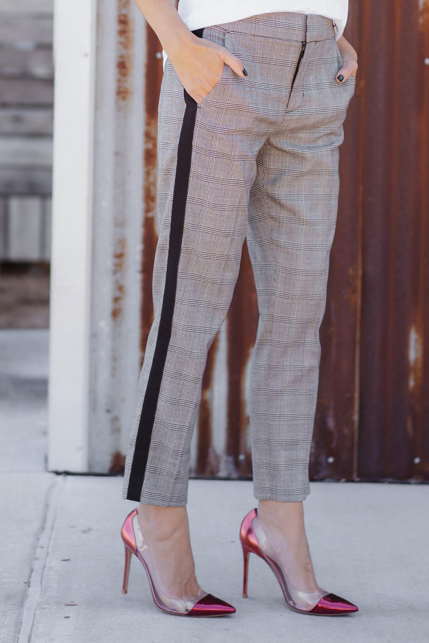 Styling Plaid Pants
