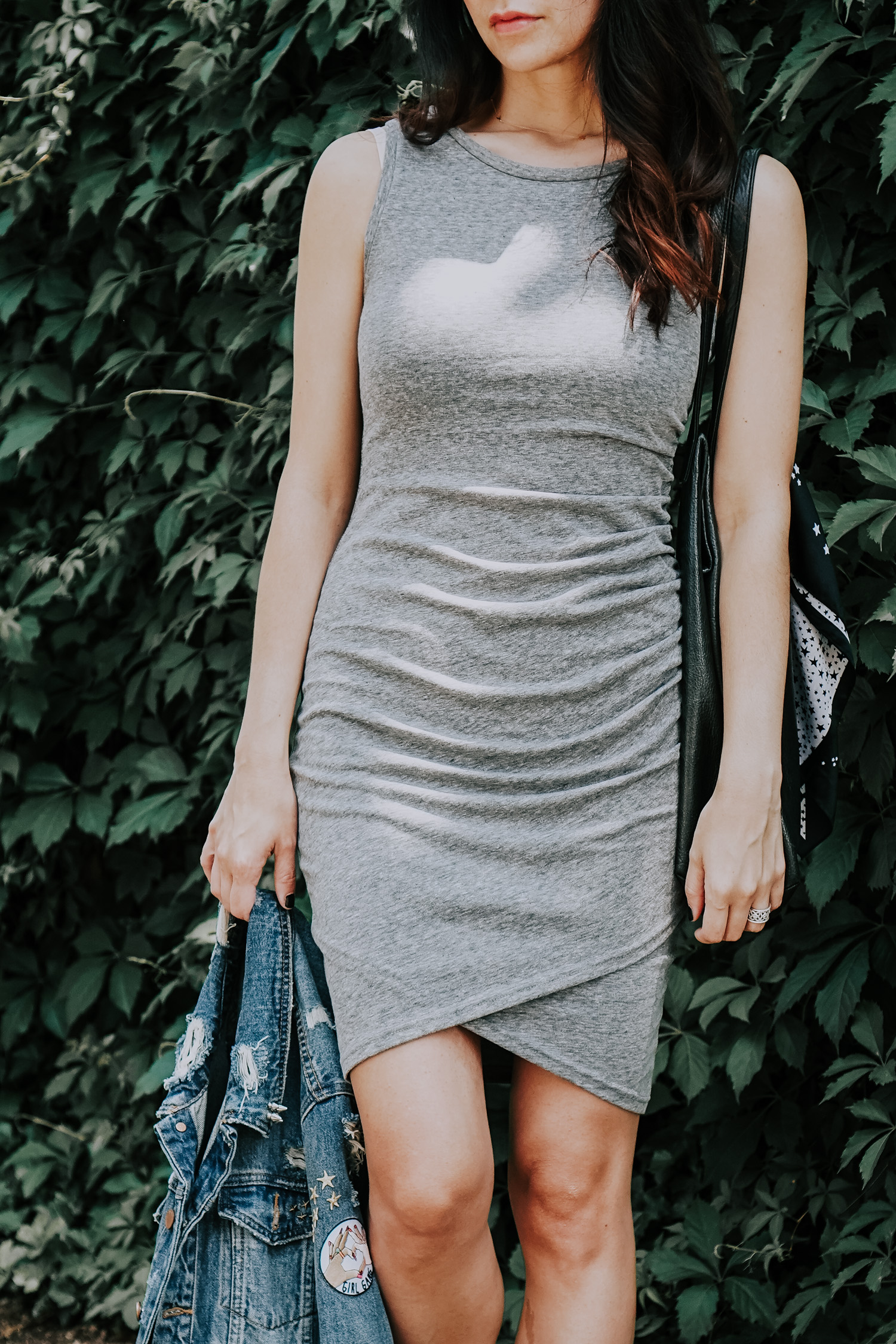 Bodycon Ruche Summer Dress