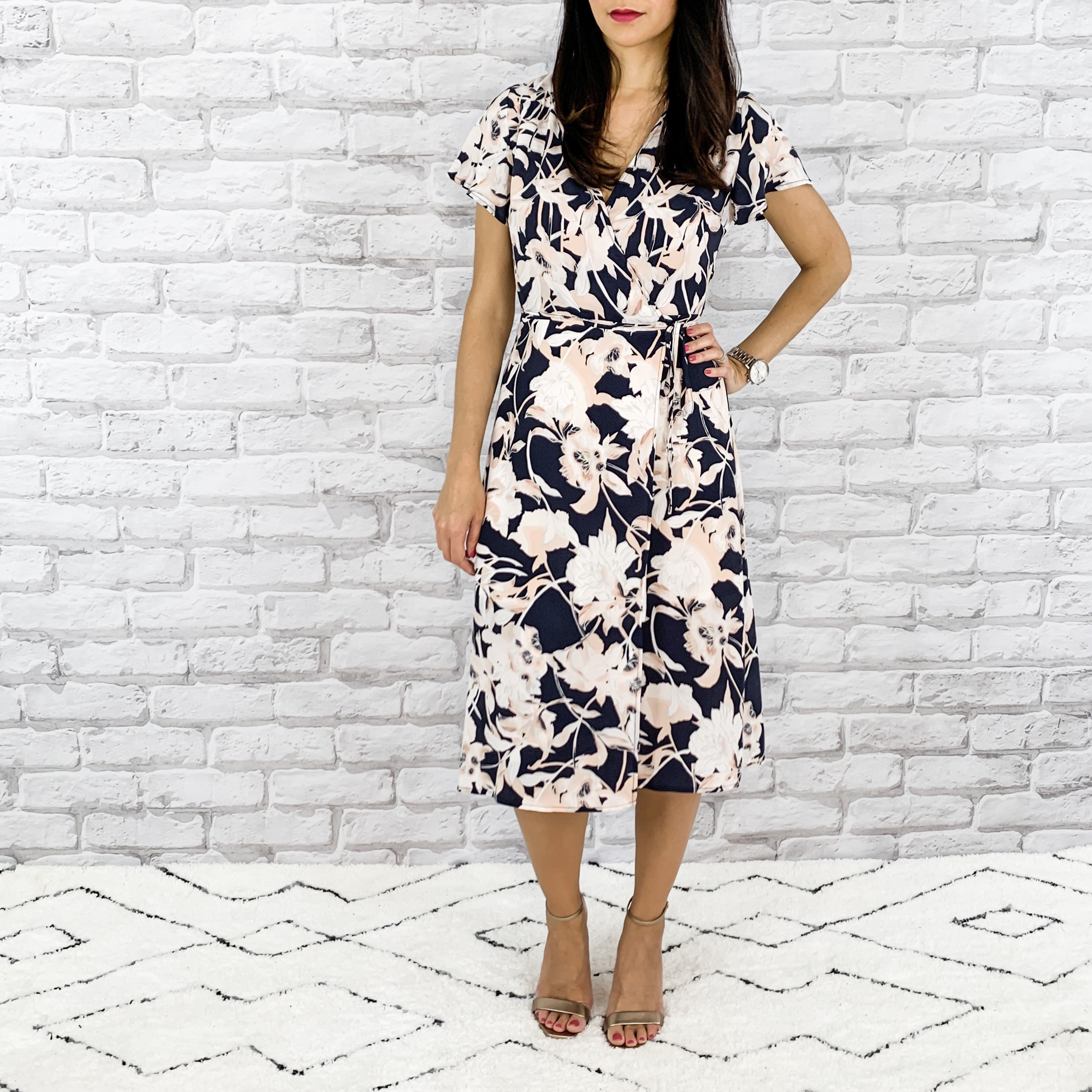 — OUTFIT DETAILS —    Leith Wrap Dress     |   Saint Laurent Shoes     — CCW DETAILS —    Can Can Concealment Garter Thigh Holster     | Glock 43