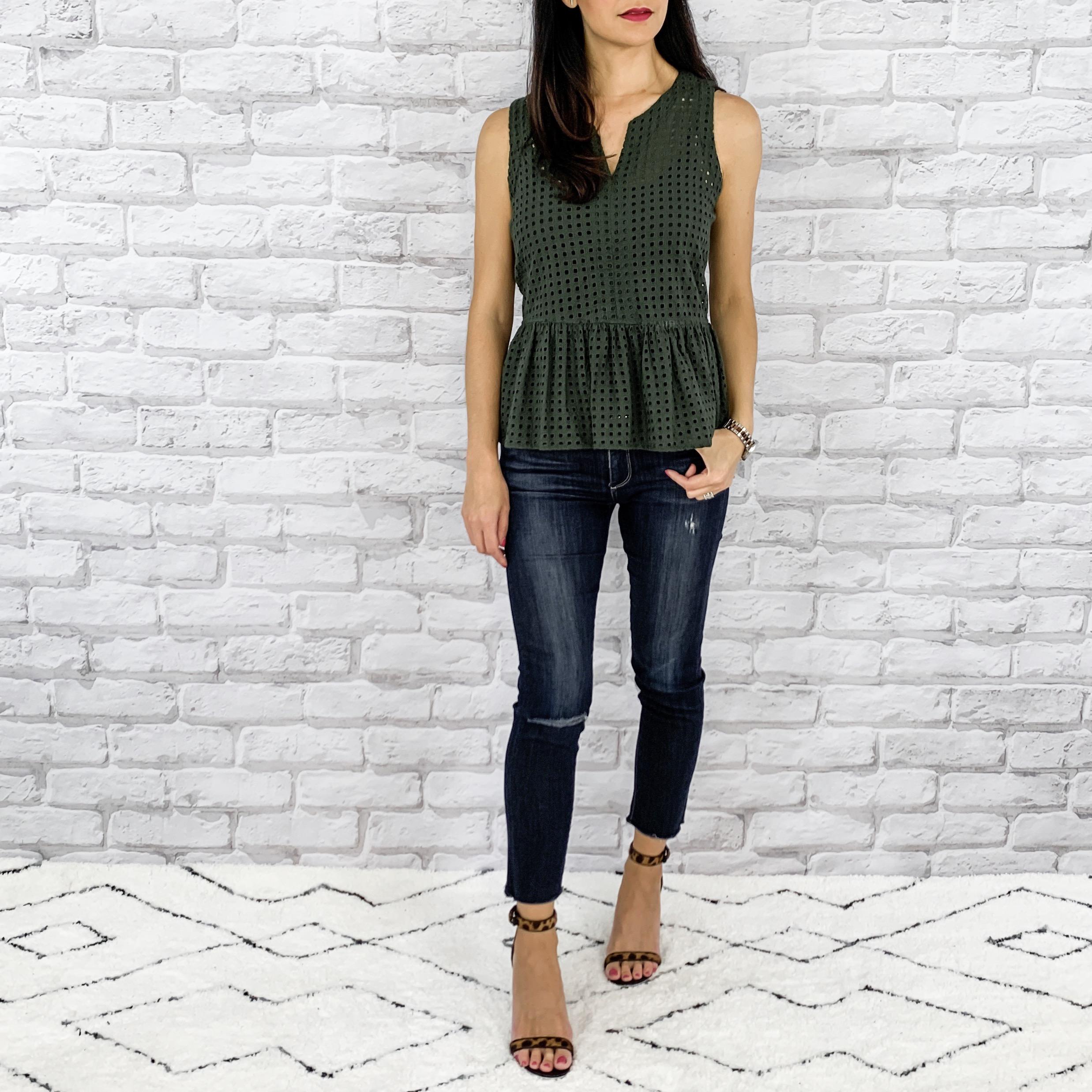 — OUTFIT DETAILS —  Halogen Top | Paige Denim Jeans | Givenchy Shoes   — CCW DETAILS —    StealthGearUSA Holster     | Sig Sauer P365 |   SureFire Stiletto Flashlight     |   Belt