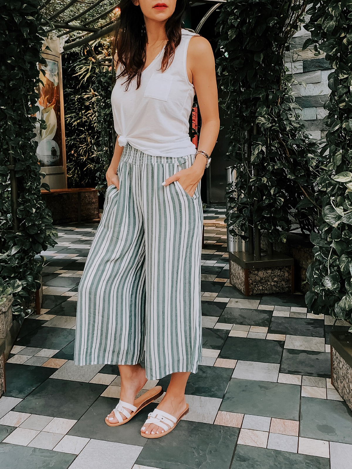 How to Style Culottes, Summer Outfit