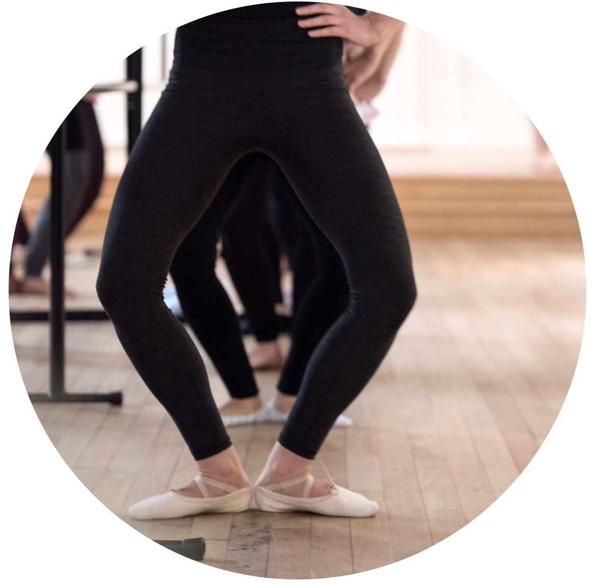 Ballet Barre - Experience a traditional ballet barre class in a fun, non-judgemental environment. This class is designed to mobilize and strengthen using techniques found in a ballet class. It also incorporates conditioning exercises used by dancers. No previous dance experience required.