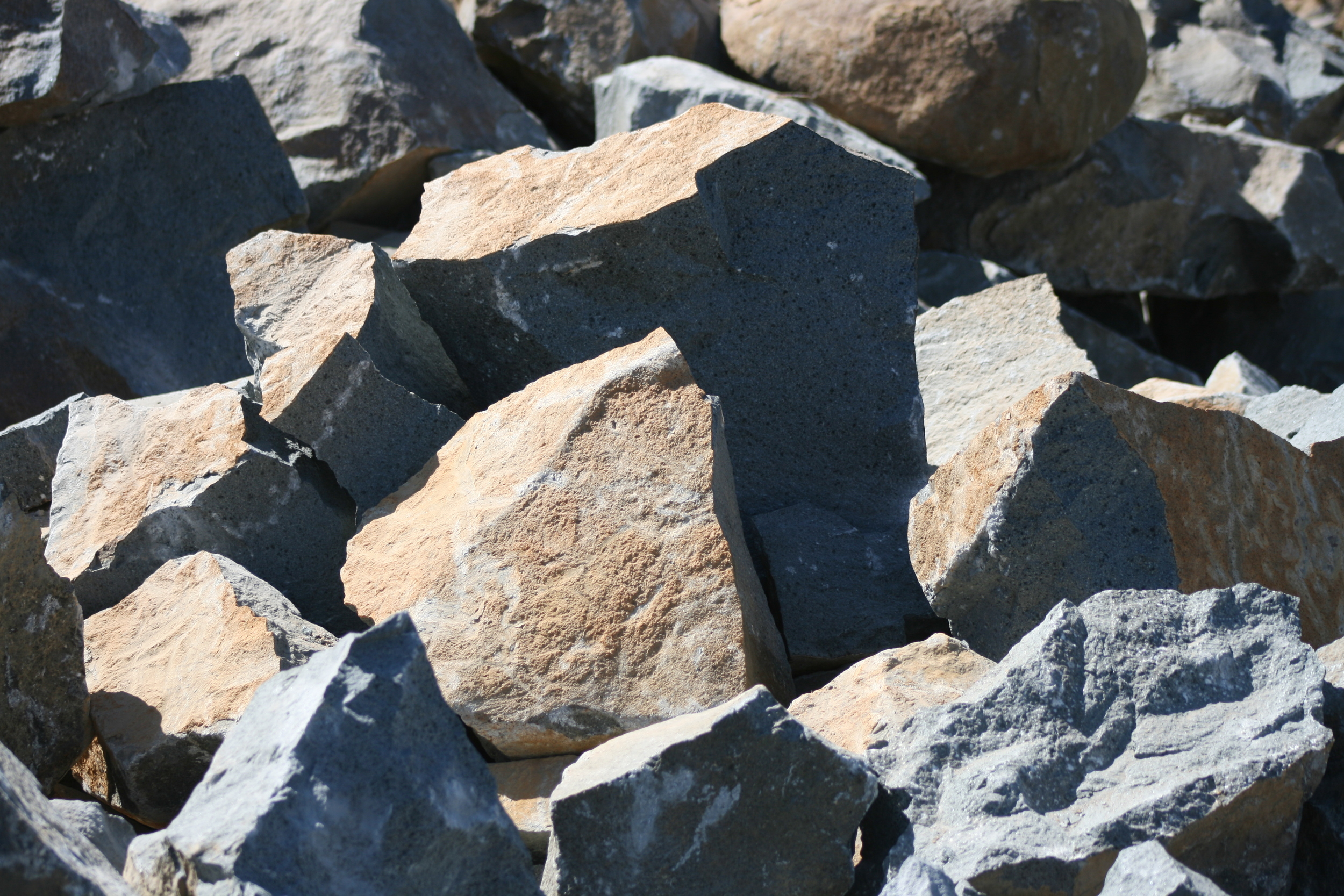 Landscape Rock  $40/ton*  *does not include machine loading fees