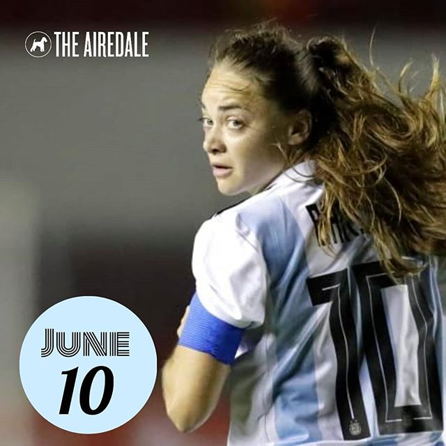 The Women's World Cup continues at The Airdale with Argentina v Japan at noon and Canada v Cameroon at 3pm. Open at noon with a new lunch menu and WWC specials! #womensworldcup