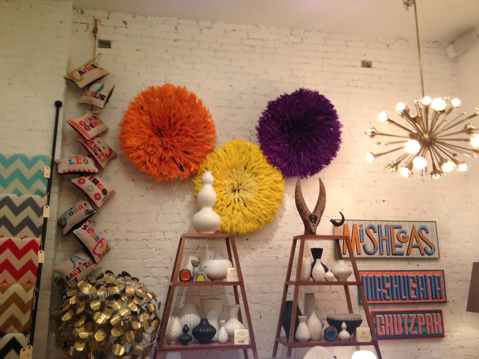 Photo by Elana Kilkenny. Taken at a Jonathan Adler store in NYC.