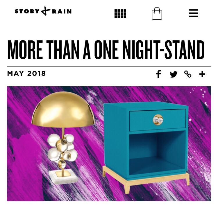 Story + Rain: Inspired Home/More Than A One Nightstand