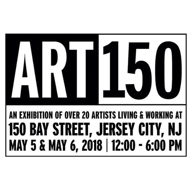 I will be showing some collages and paintings along side my talented brother @ctbray and 20 other artists at ART150 in Jersey City this weekend.  Check @art150jc for more details. ✌🏼
