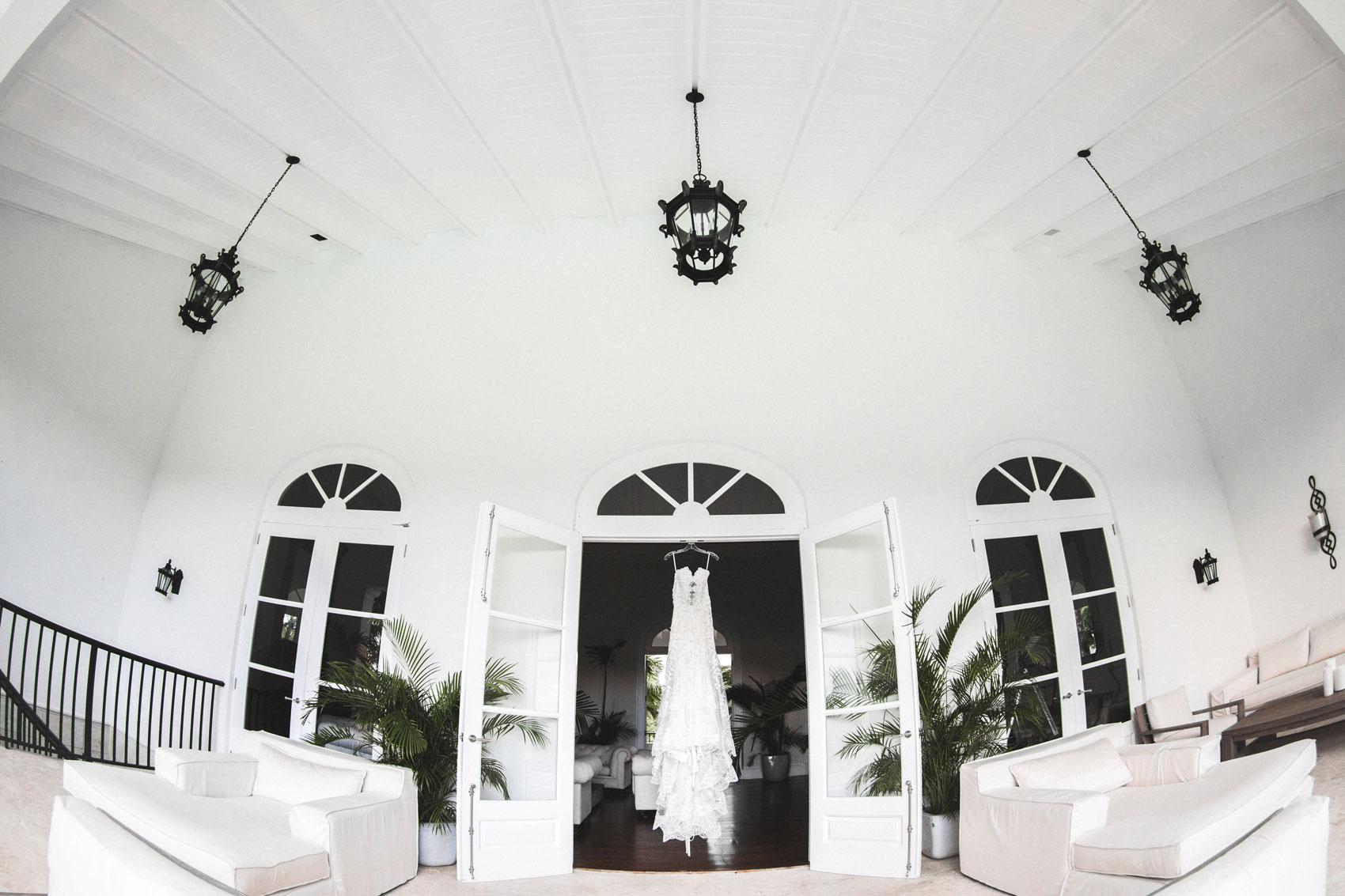 wedding dress punta cana