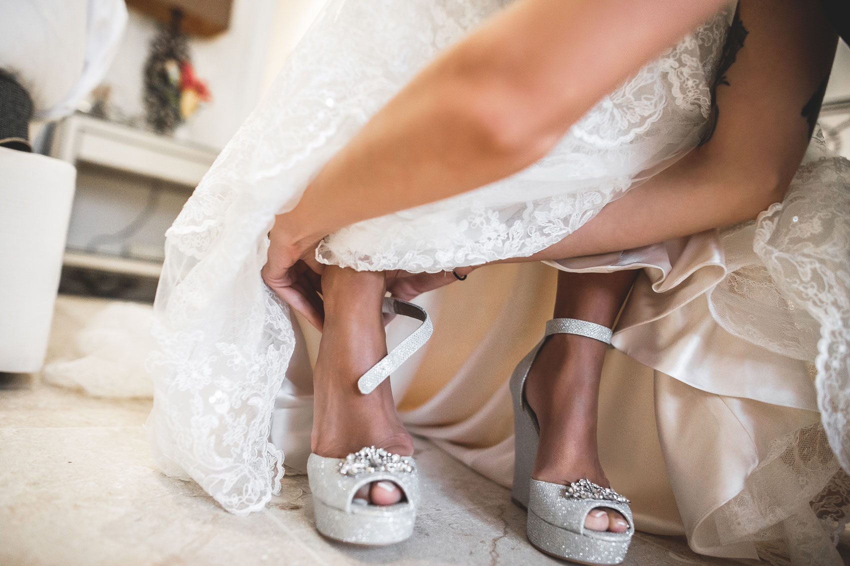 wedding dress in dominican republic