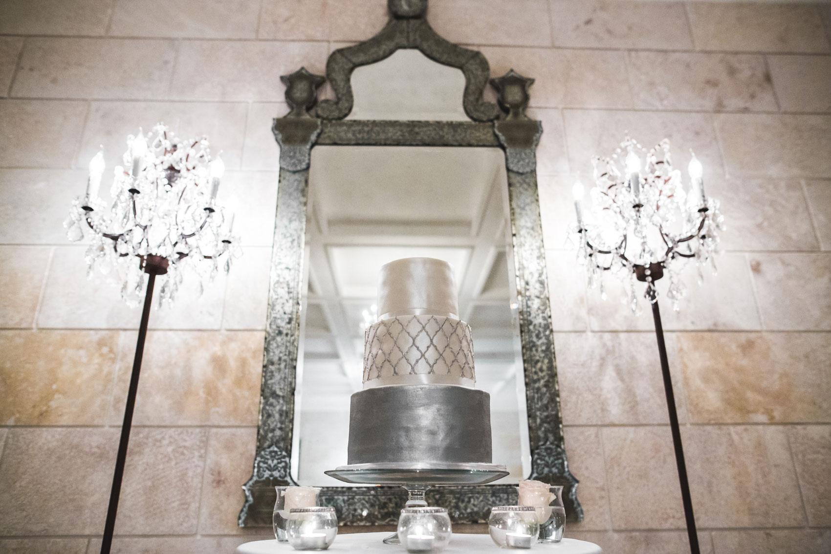 wedding cake in cap cana