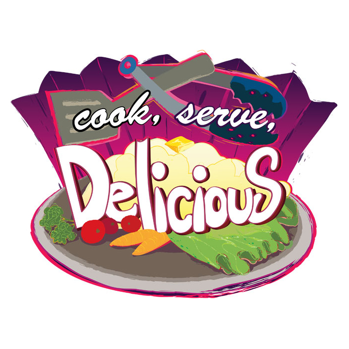 Cook, Serve, Delicious! Logo