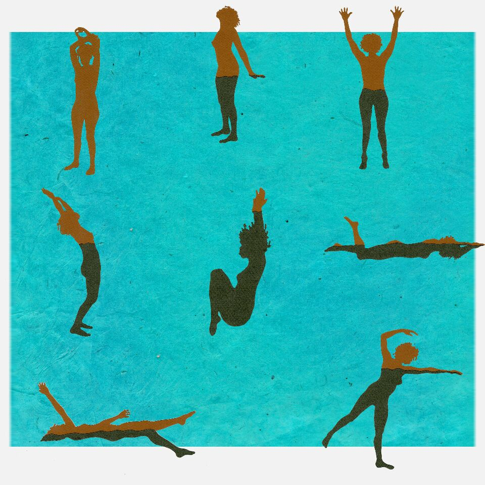 Swimming compilation