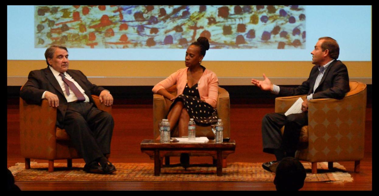 William Louis-Dreyfus, Anne Williams-Isom (CEO, Harlem Children's Zone), and Glen MacDonald, (Chairman, W&GF)
