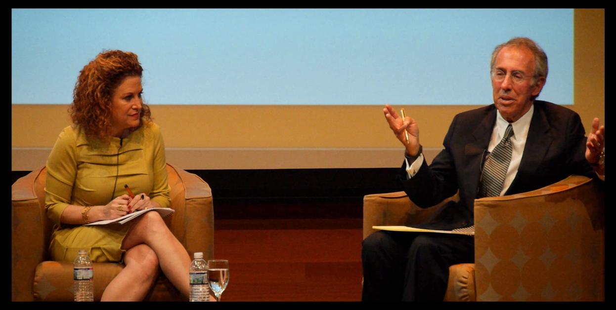 Randy Kaufman, (Sr. Advisor, W&GF) and Ron Baron (CEO & CIO, Baron Capital)