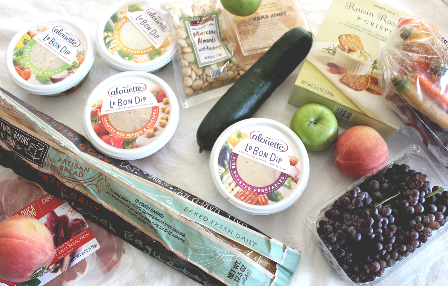 Alouette dips for an easy happy hour