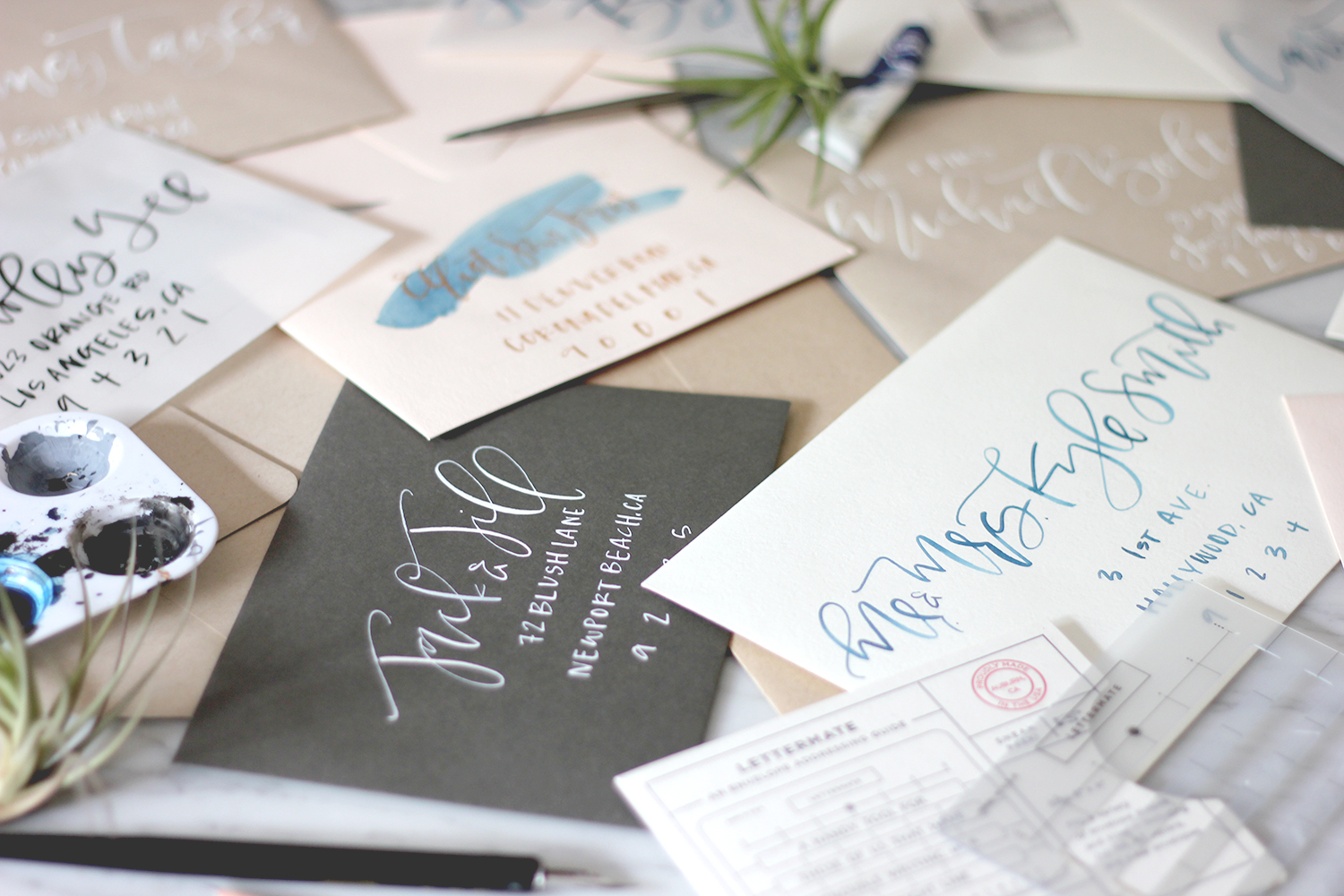 Calligraphy Tools | A Fabulous Fete