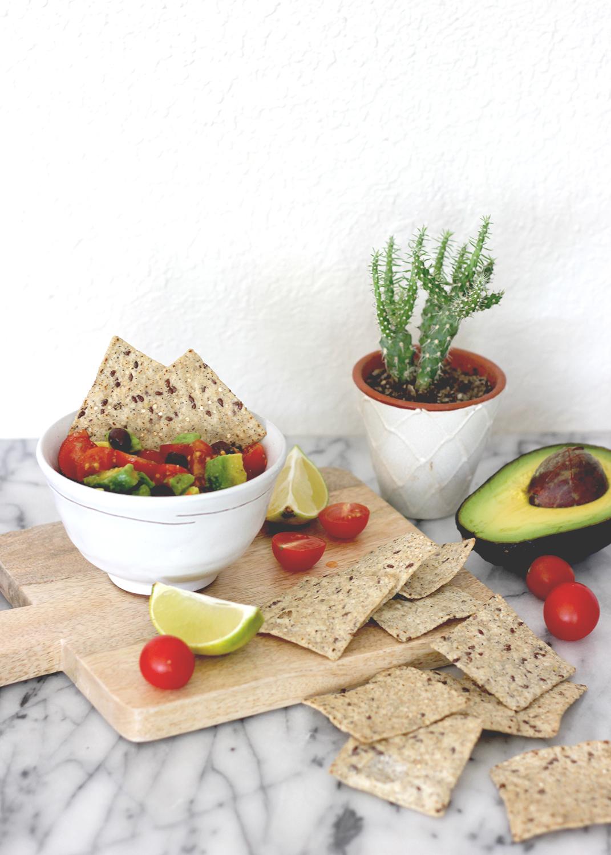 Healthy 4 Ingredient Avocado Dip | A Fabulous Fete