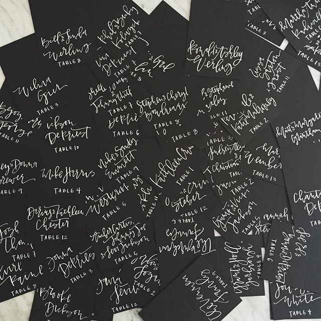 Black and White Calligraphy Place CArds.jpg