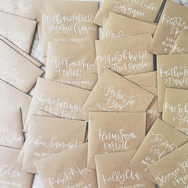 White Brush Calligraphy Envelope Addressing.jpg