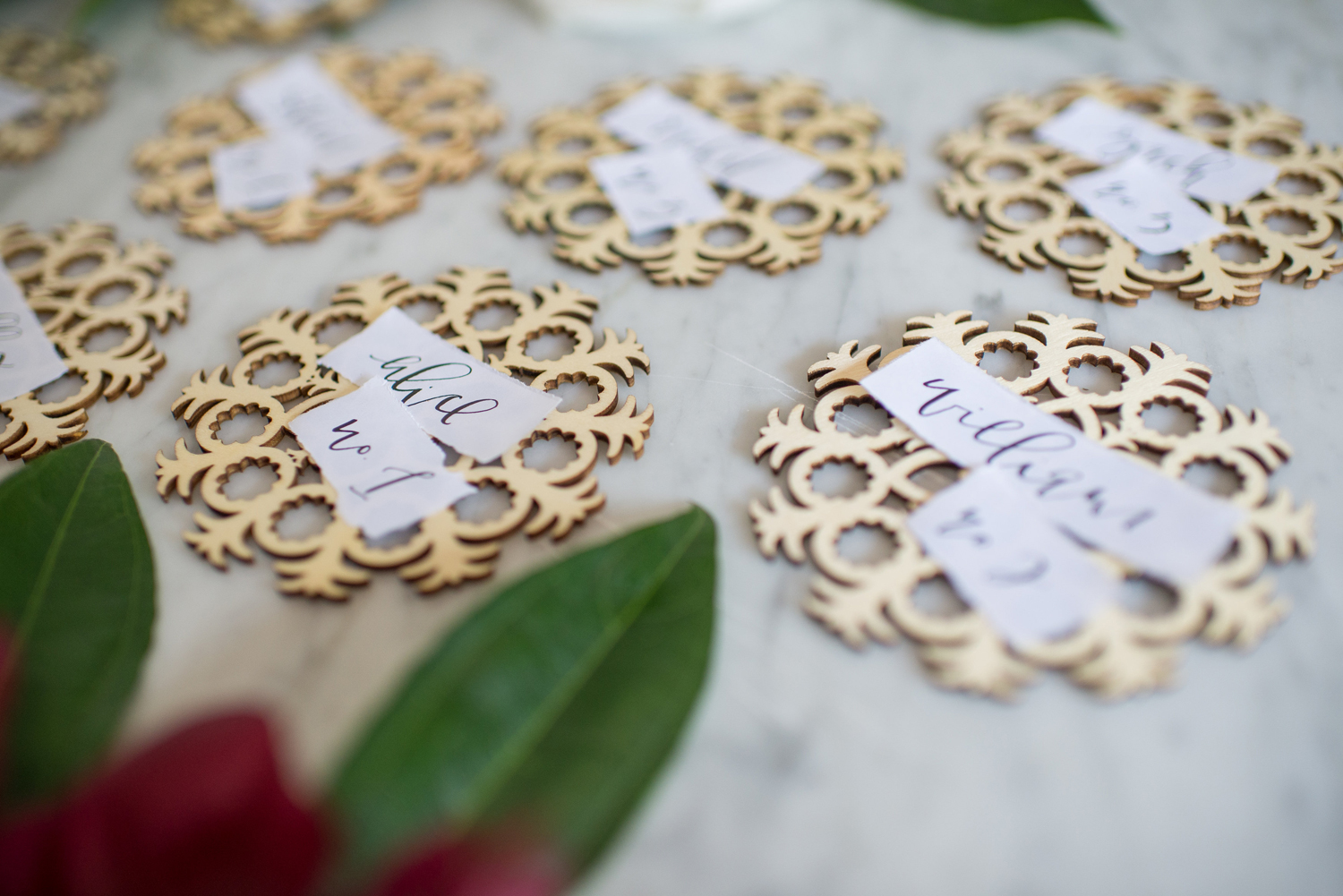 Simple Calligraphy Escort Card Ideas | A Fabulous Fete
