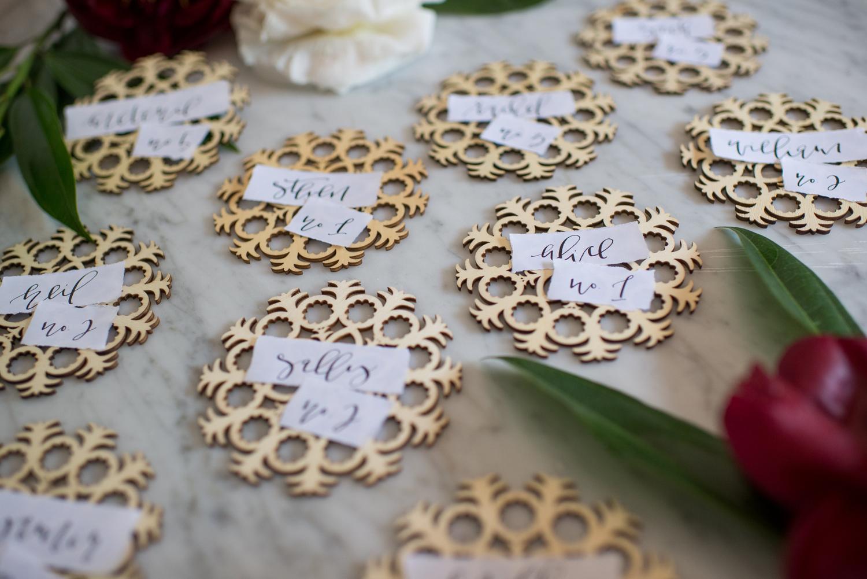 Wedding Escort Card DIY | A Fabulous Fete