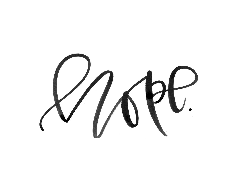 Watercolor Calligraphy | A Fabulous Fete