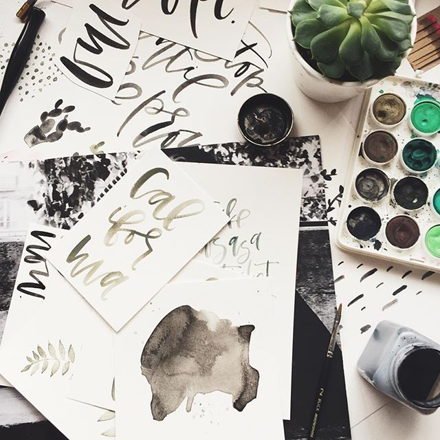 Calligraphy Work | A Fabulous Fete