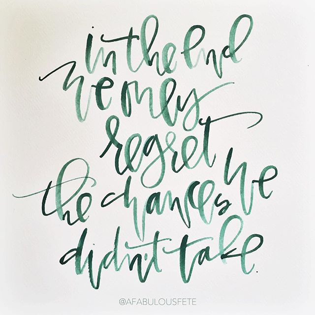 Sunday calligraphy quotes | A Fabulous Fete