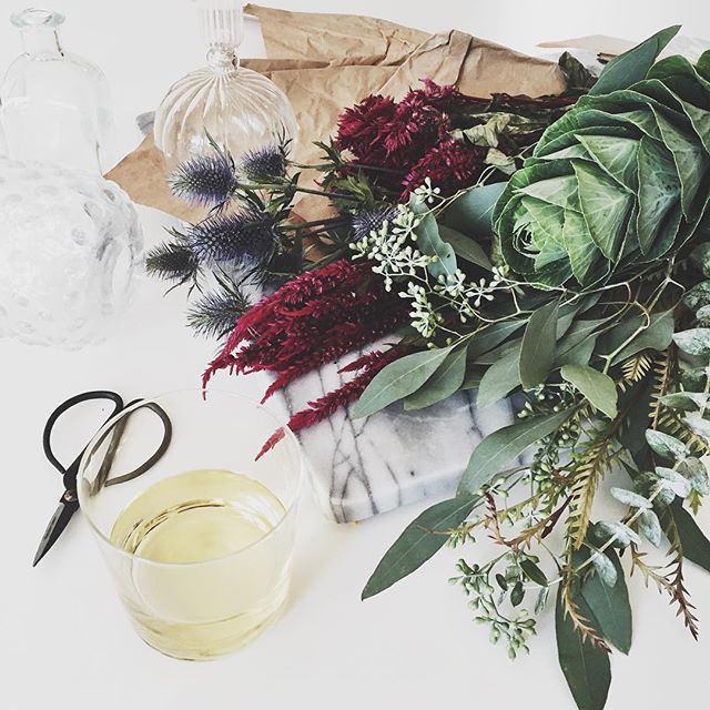 Wine and flowers | A Fabulous Fete