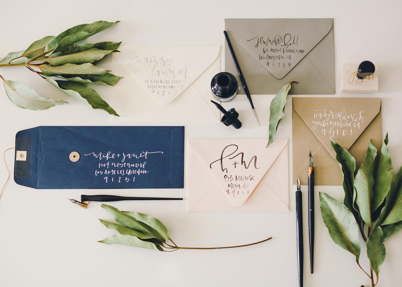 Return Addresses for Wedding Envelopes  | A Fabulous Fete