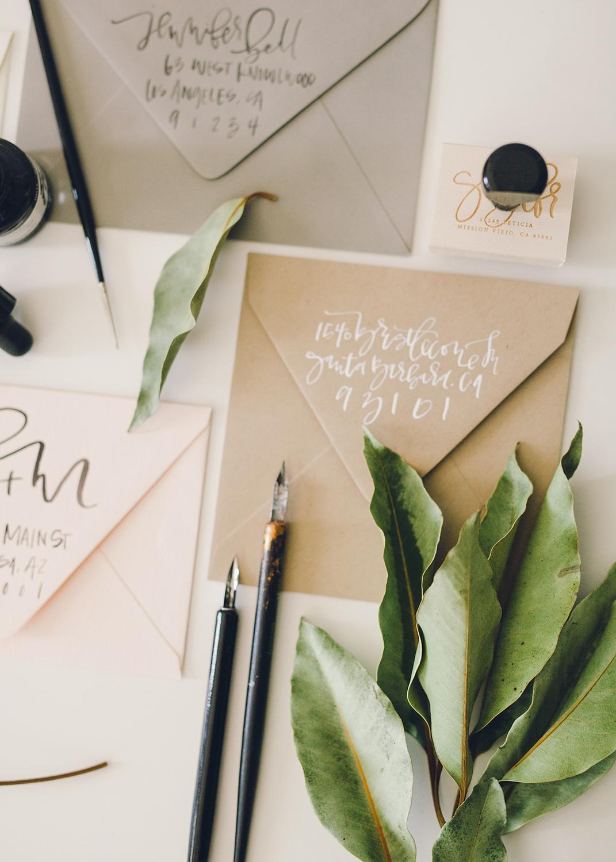 Wedding Envelope Addressing Etiquette | A Fabulous Fete