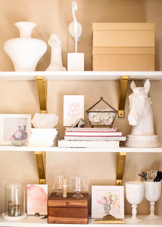Shelf Styling | A Fabulous Fete