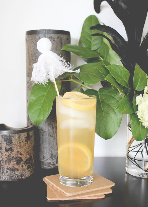 Ghost Drink Stirrer DIY   A Fabulous Fete