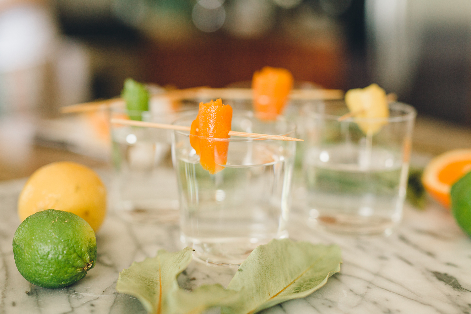 Prep your cocktail glasses ahead of parties with this simple garnish | A Fabulous Fete