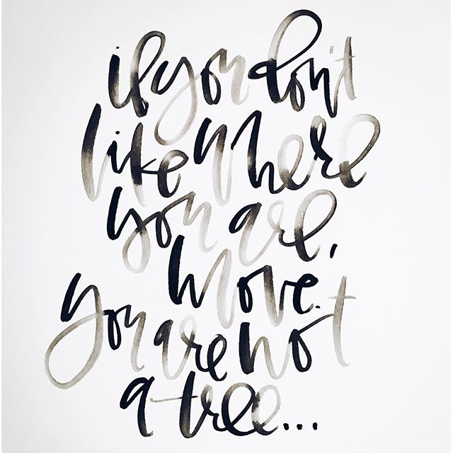Watercolor Calligraphy Quotes | A Fabulous Fete